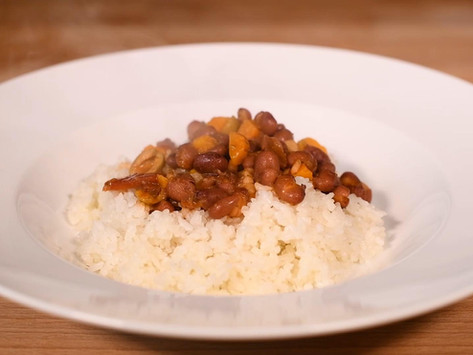 Delicious White Rice & Beans