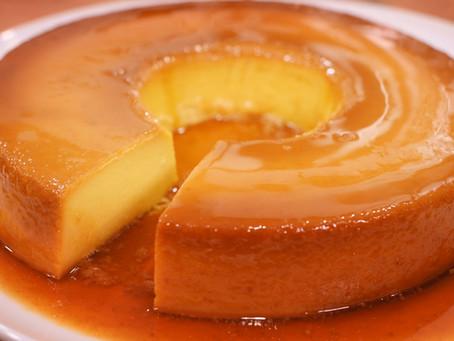 The Perfect and Easiest Thanksgiving Dessert!! Pumpkin Flan / Flan de Calabaza