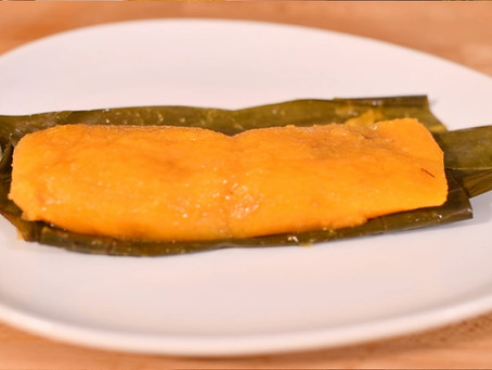 Vegan Pasteles de Yuca (with Beyond Meat)