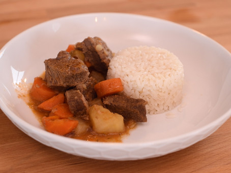 Carne Guisada - Traditional Puerto Rican Beef Stew