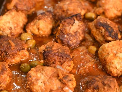 Puerto Rican Albondigas (Meatballs)
