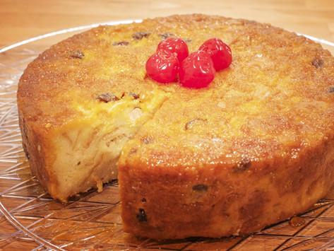 Budin de Pan / Puerto Rican Bread Pudding