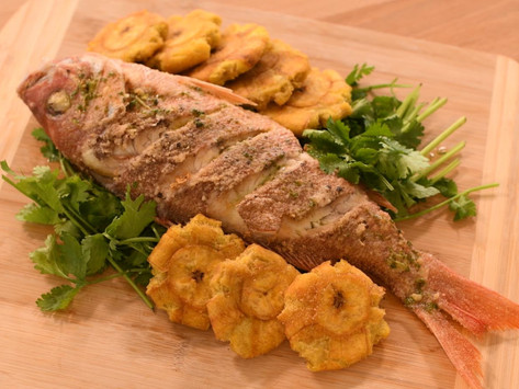 Chillo Frito - Fried Red Snapper