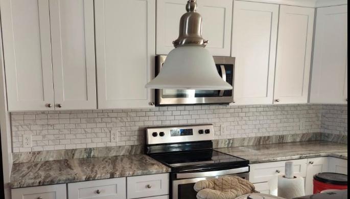 backsplash remodel in kitchen