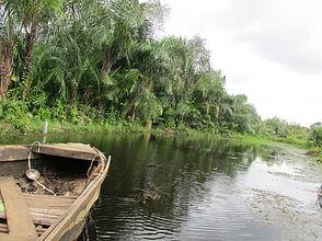 Adjarra Bénin, larivièr noire