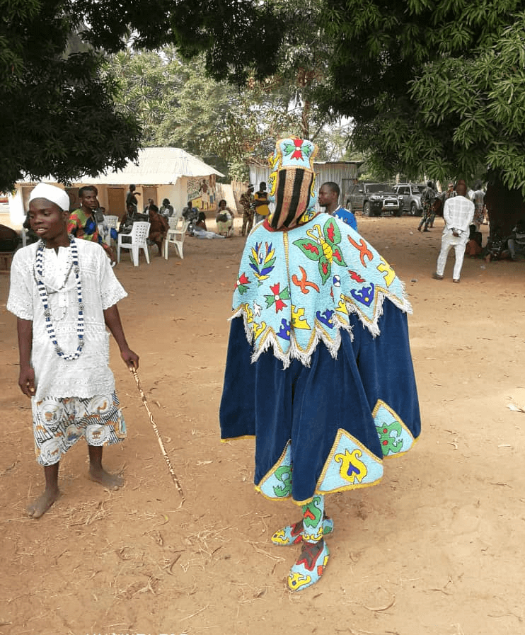 la fête du Vodou à Ouidah