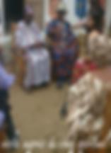 cérémonie vodou à Ouidah
