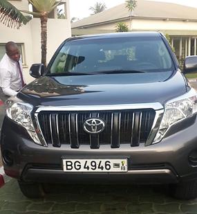 location 4x4 avec chauffeur à Cotonou