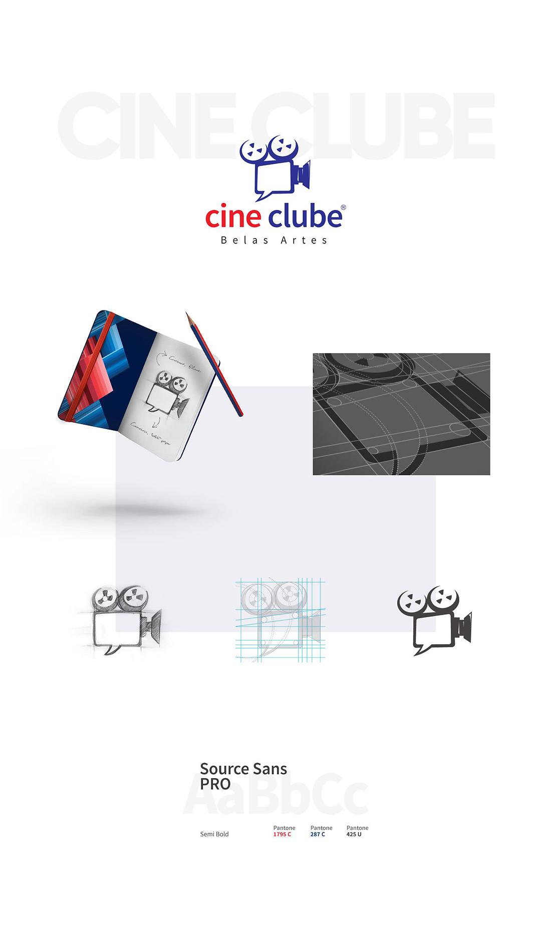 Cine Clube Belas Artes logotipo