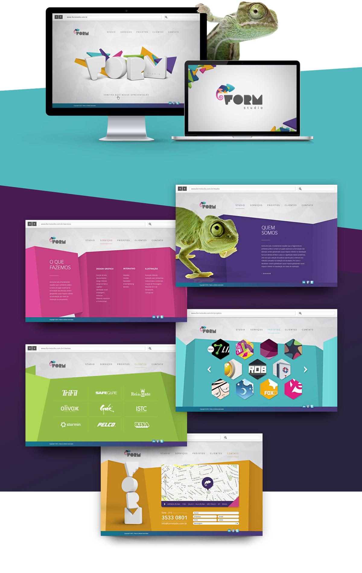 Form Studio website