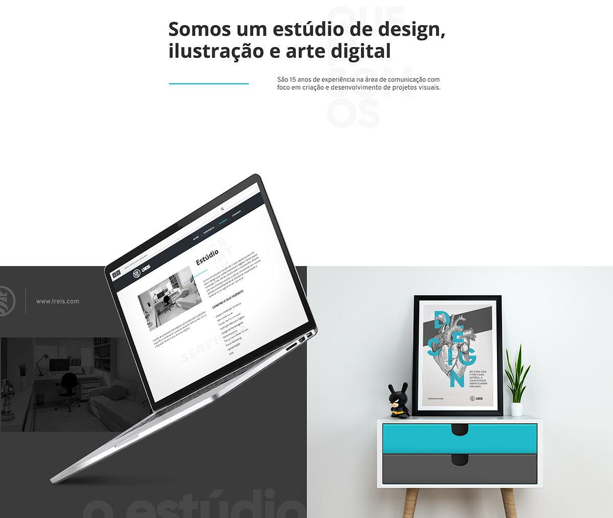 LReis website responsivo