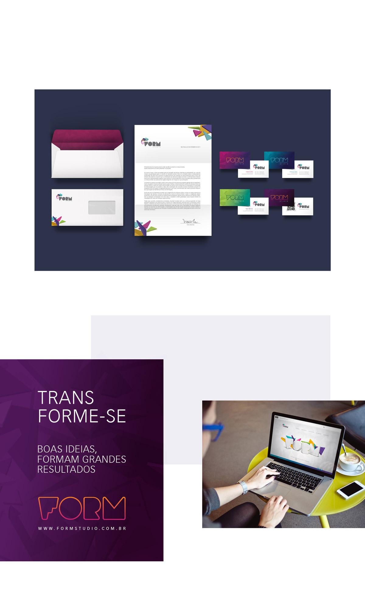 Form Studio identidade visual