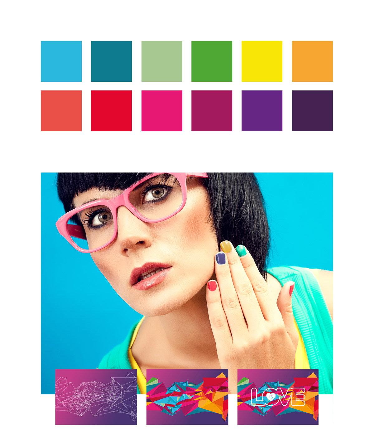 Love 13 cores da marca