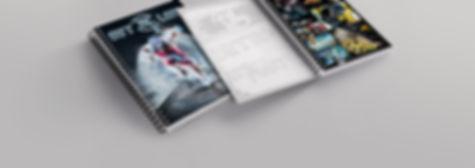 Design de capas de cadernos para Cadersil