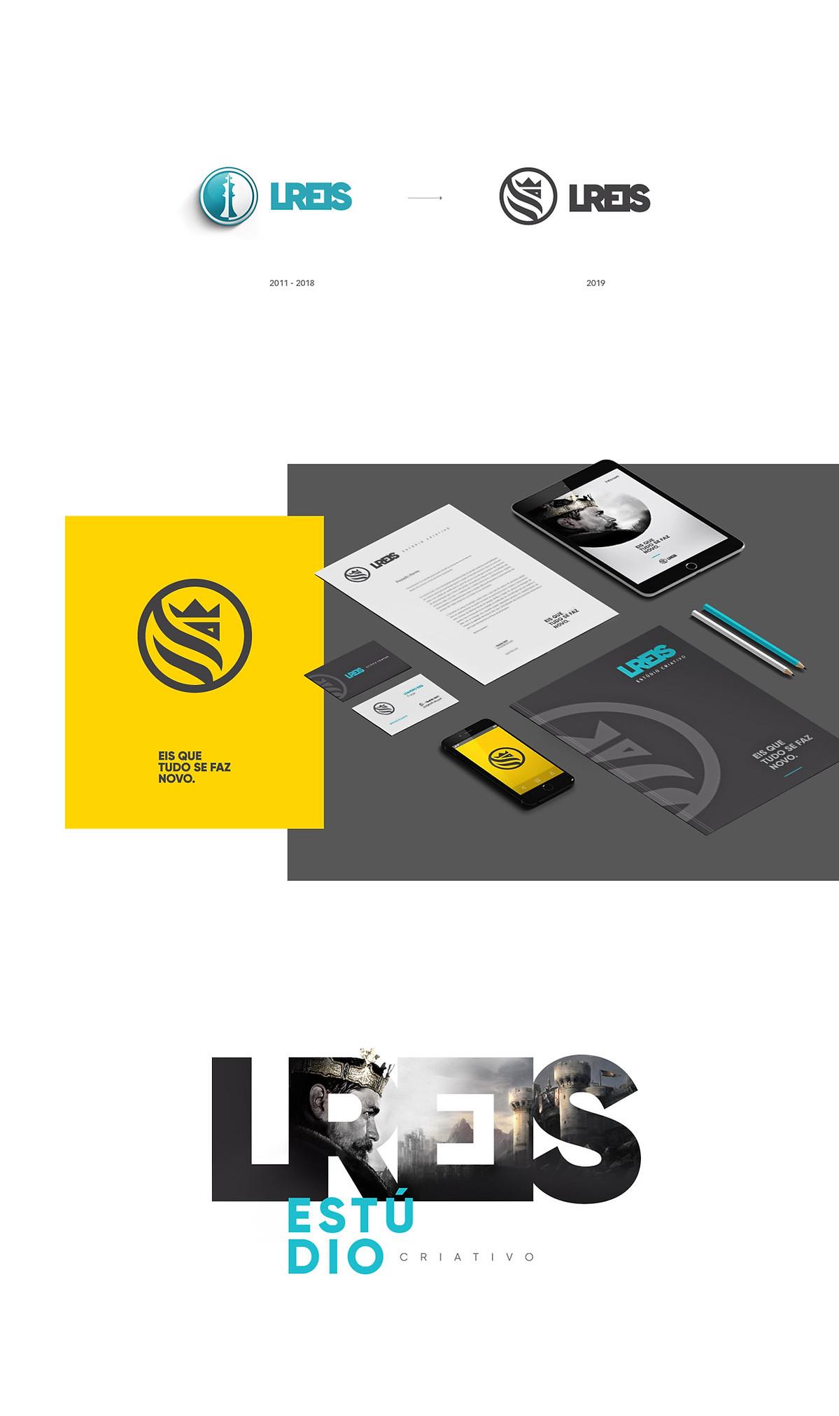 LReis redesign de marca