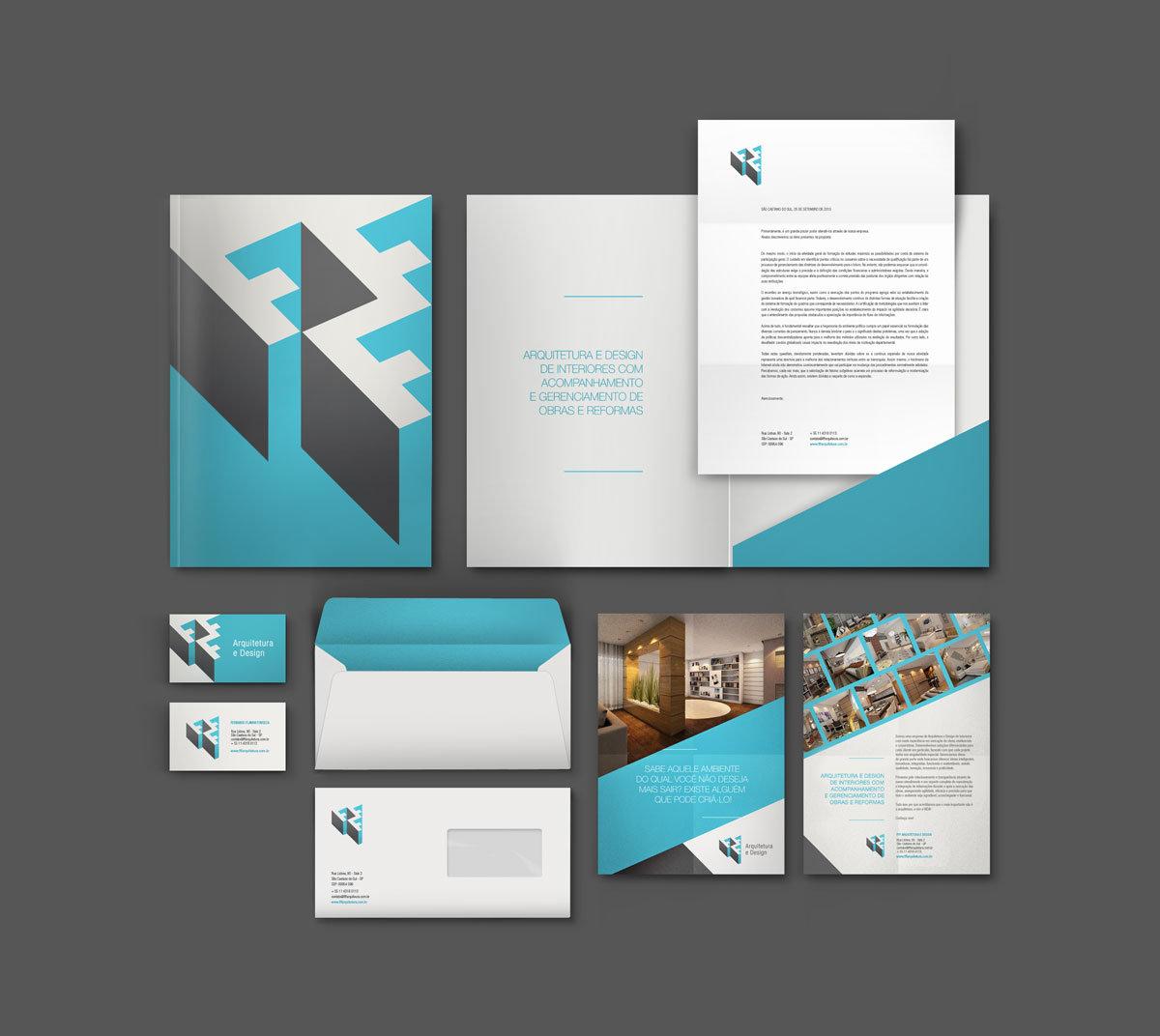 FFF Arquitetura de marca branding