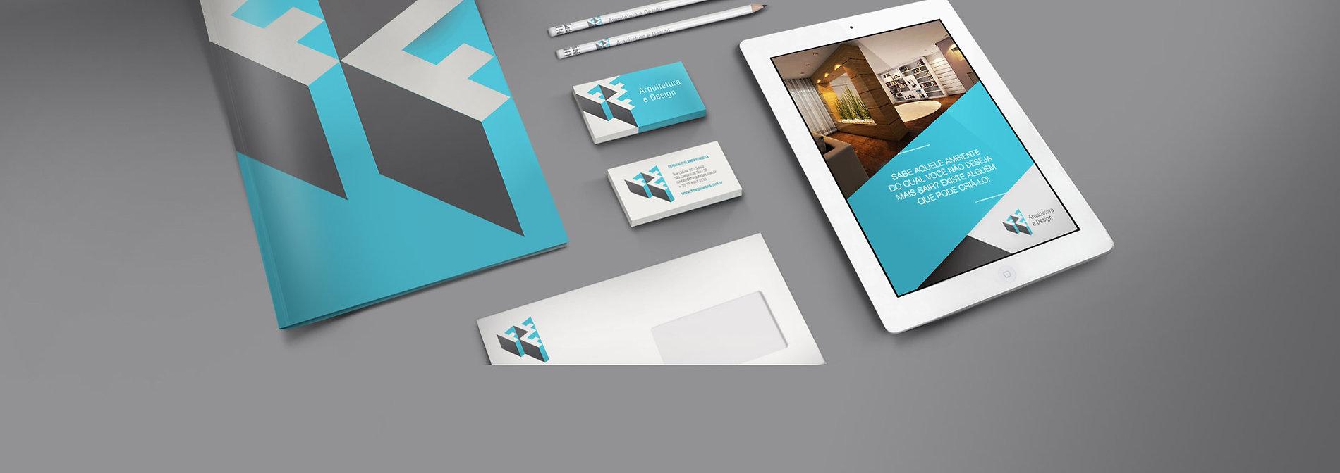Redesign de marca para escritório de arquitetura