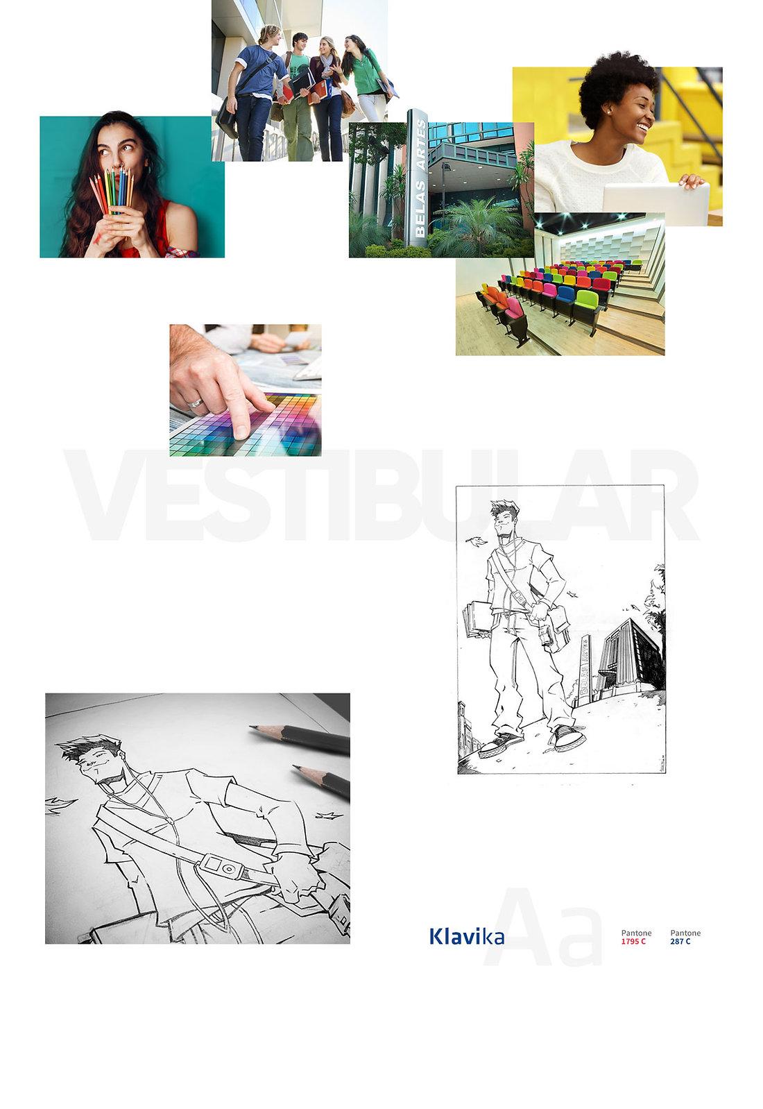 Belas Artes processo seletivo desenho