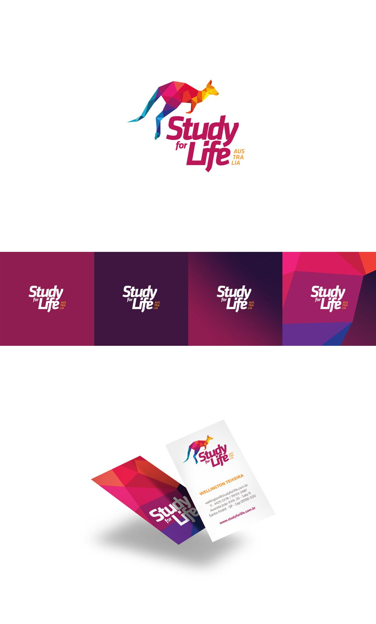 Study for Life cartão de visita