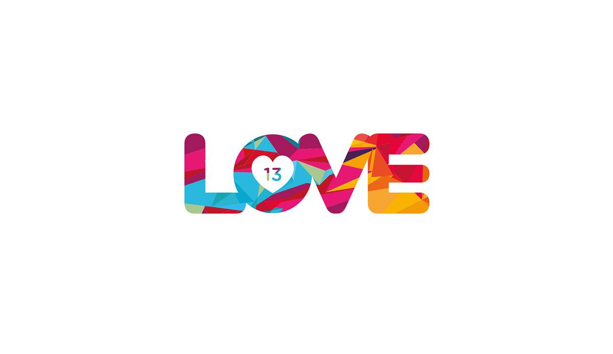 Love 13 logotipo
