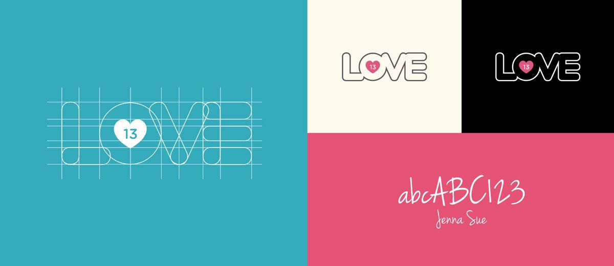 Love 13 conceito da marca