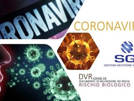 """News   Covid-19 - """"DLgs. 81/08 - Come gestire l'aggiornamento dei DVR aziendali"""""""