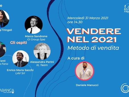 Evento in Diretta | Vendere nel 2021: metodo di vendita