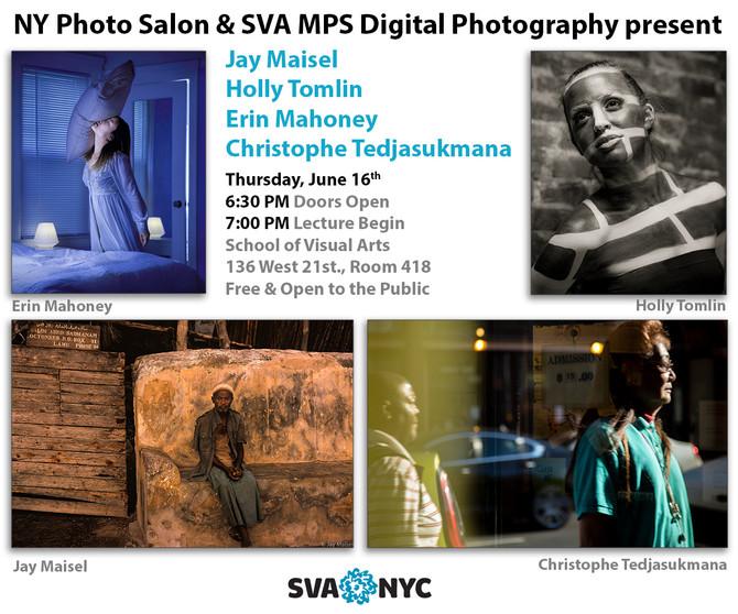 Speaking: NY Photo Salon & SVA MPS