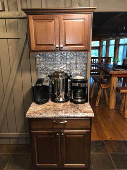 Coffee Appliances in Cabin