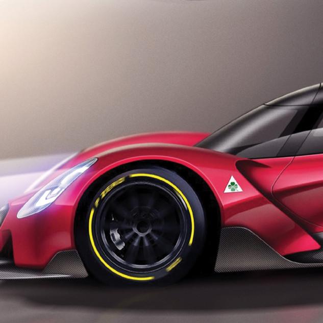Alfa Romeo Pikes Peak Concept