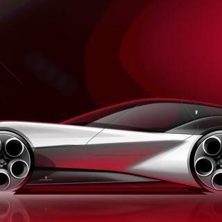 Alfa Romeo Electric Sporstcar Concept