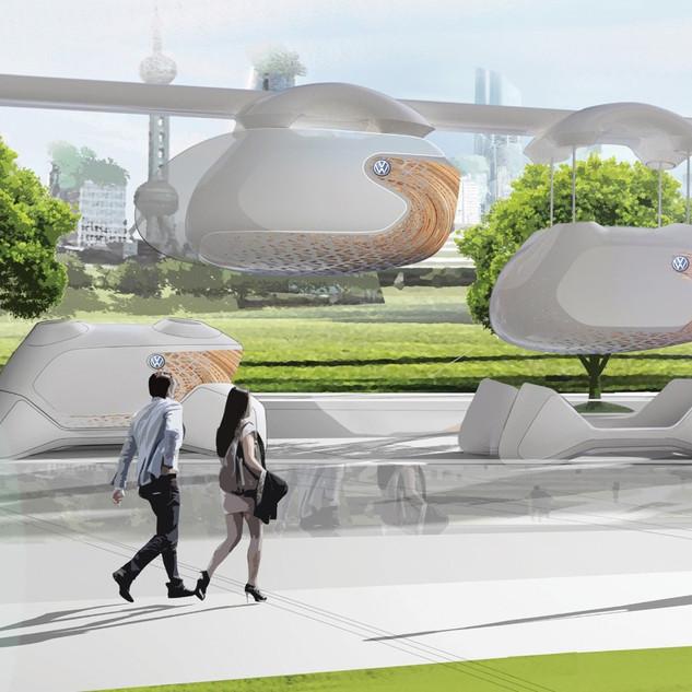 Volkswagen Peony Future Transportation Concept