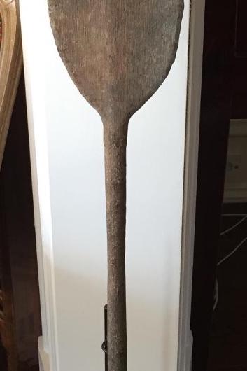 Antique paddle -- SALE PRICE