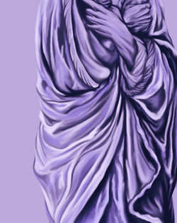 Figure in Lavender