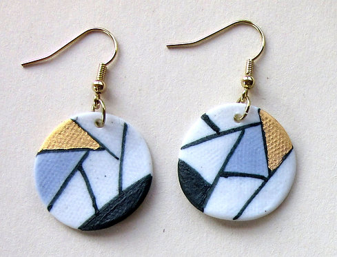 5726 - Porcelain earrings