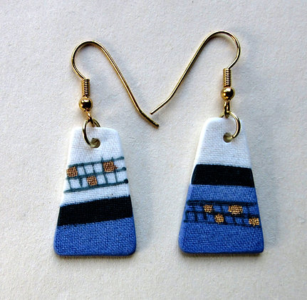 5449 - Porcelain earrings