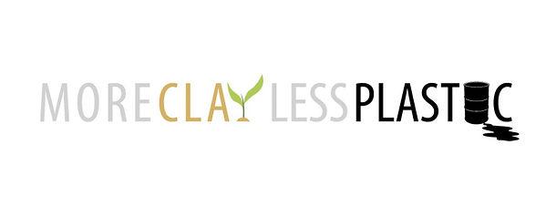 More Clay less Plastic Logo