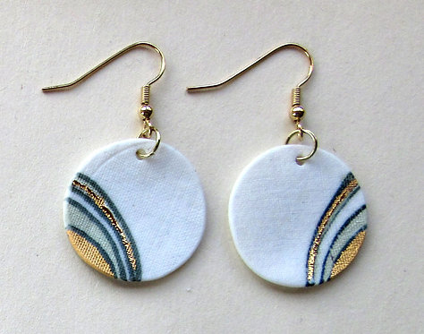 5763 - Porcelain earrings