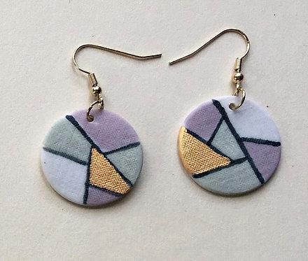 5856 - Porcelain earrings