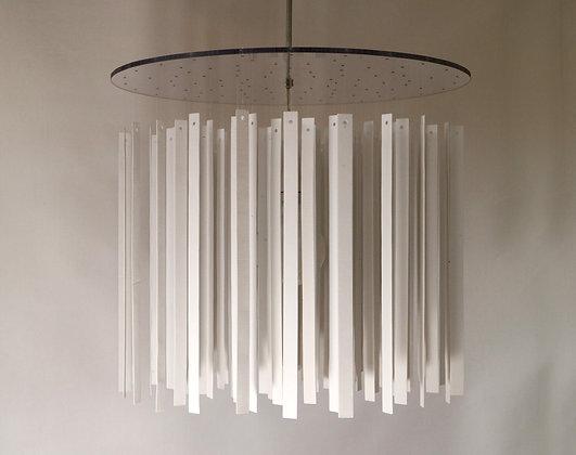 Nocturne, porcelain lamp