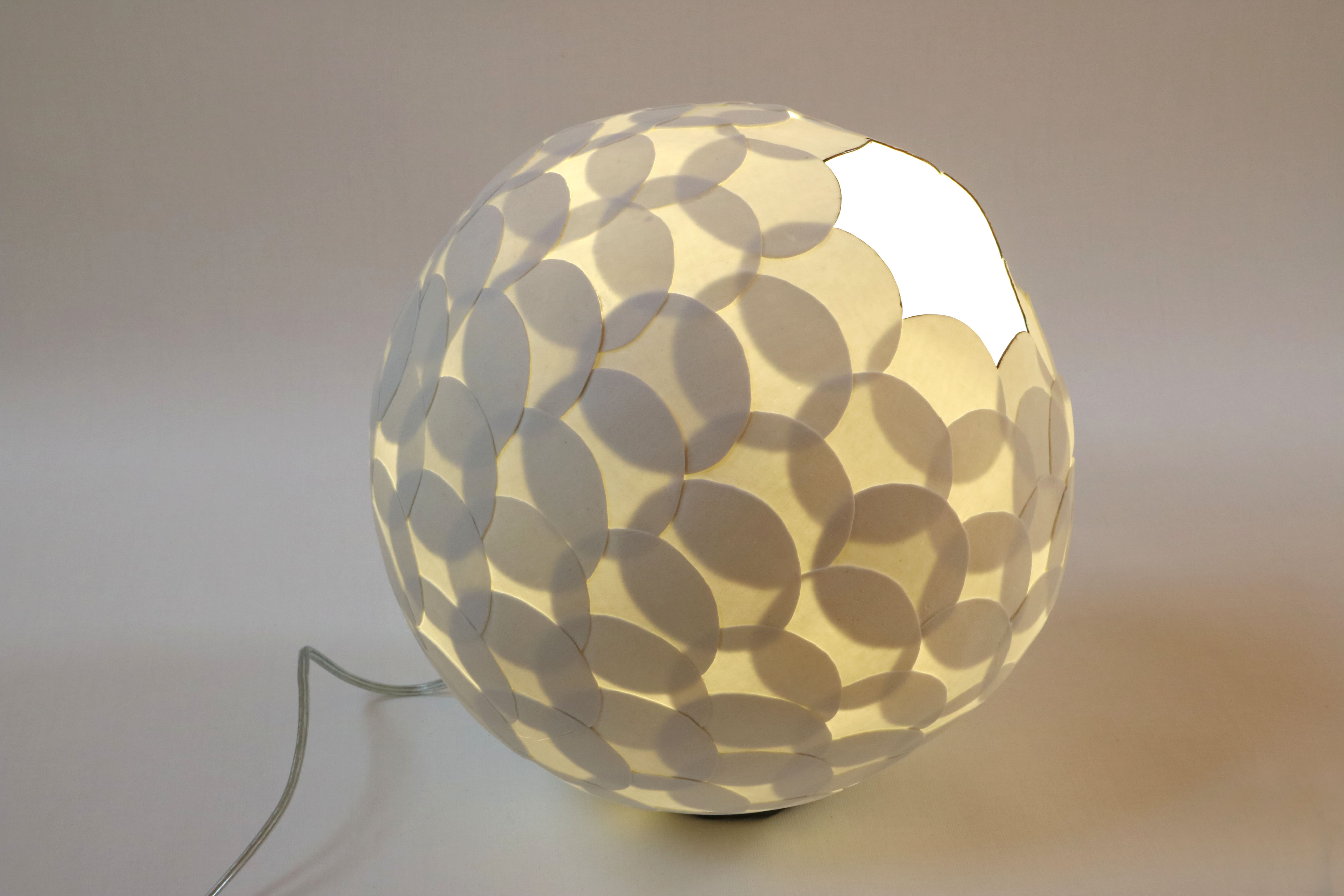 Translucent Porcelain Sphere