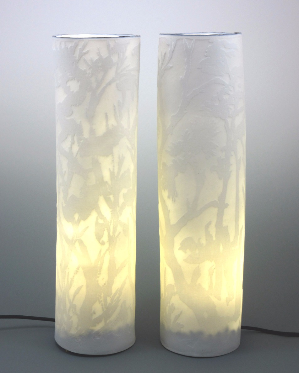 porcelain lighting columns