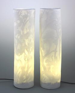 porcelain lighting columns