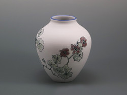 East Indian Cherry on porcelain