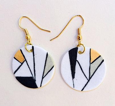 5625 - Porcelain earrings