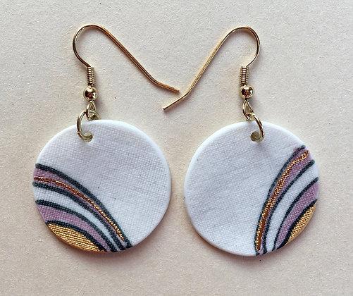 5793 - Porcelain earrings