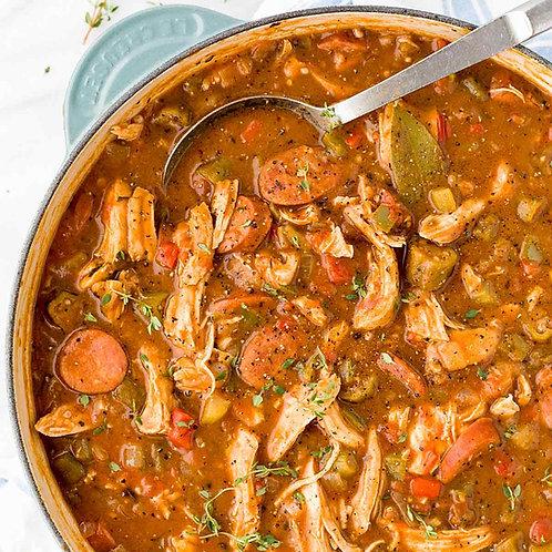 Louisiana Chicken & Sausage Gumbo