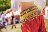 Danse du ventre pendant la journée
