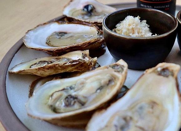 1/2 a dozen Oysters