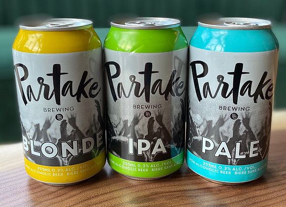 Partake Non-alcoholic Beer